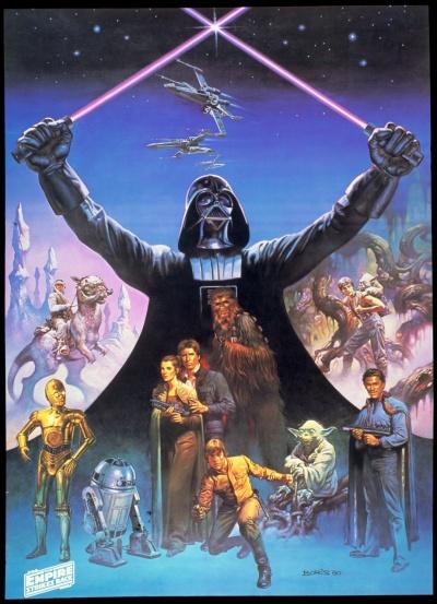Star Wars Empire Strikes Back Art