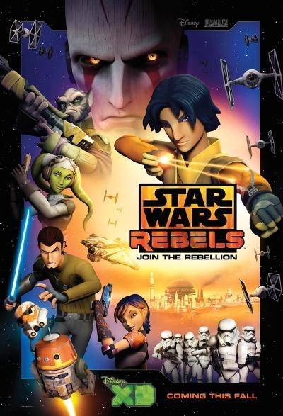 Star Wars Rebels Poster #1