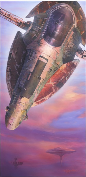 Star Wars Slave One Art