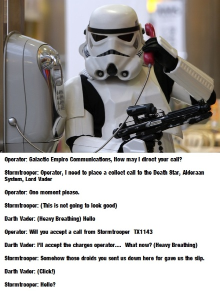 Stormtrooper Collect Call