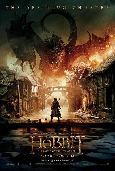 The Hobbit The Battle of the Five Armies CC Poster