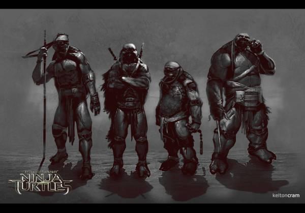 TMNT 2014 Alternate Designs 1