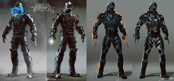 TMNT 2014 Alternate Designs 2