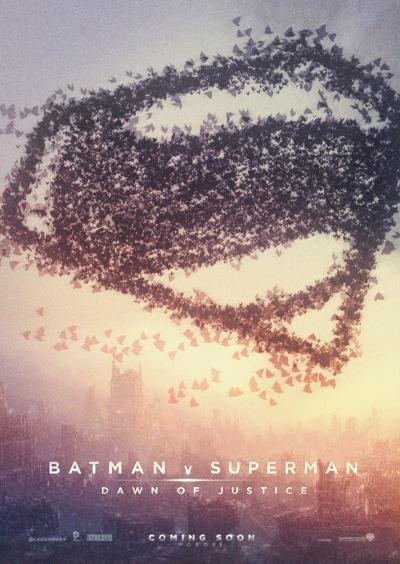 Batman v Superman Dawn of Justice Fan Poster #1
