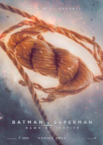 Batman v Superman Dawn of Justice Fan Poster #2