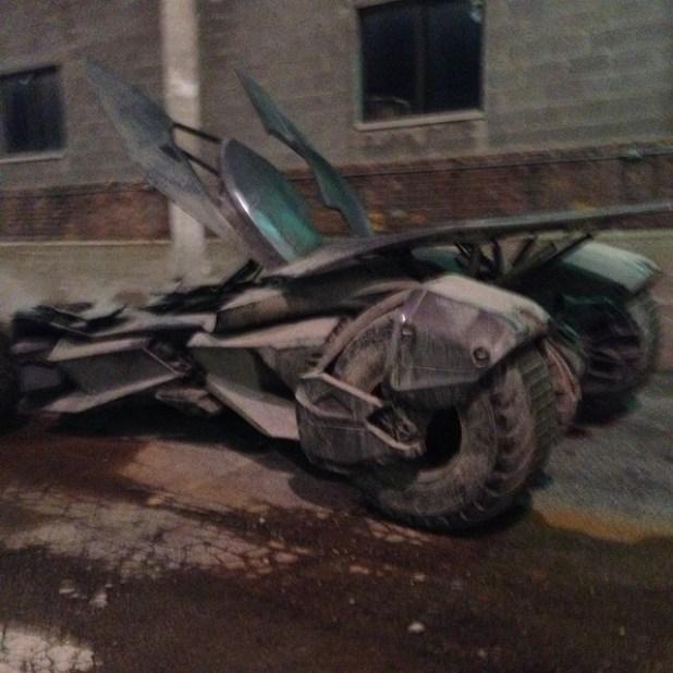 Batmobile Batman v Superman Image 2