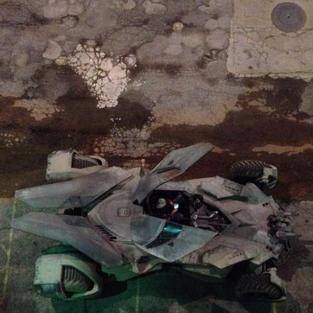 Batmobile Batman v Superman Image 3