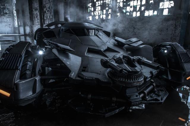 Batmobile Batman v Superman