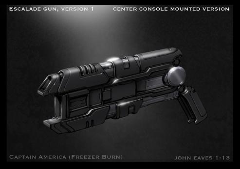 Captain America Winter Soldier Concept Art #13