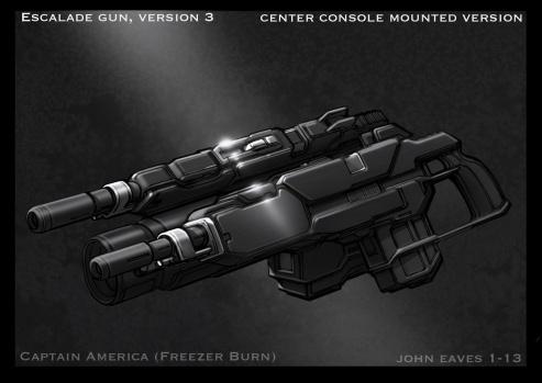 Captain America Winter Soldier Concept Art #14