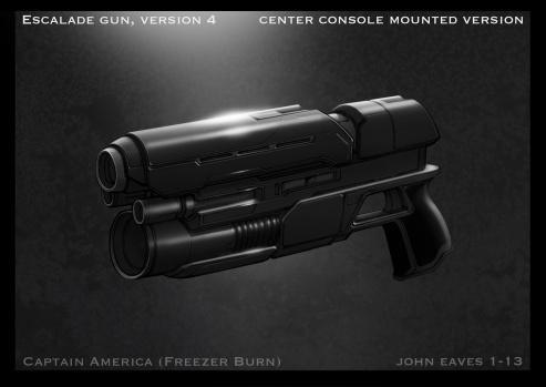 Captain America Winter Soldier Concept Art #15