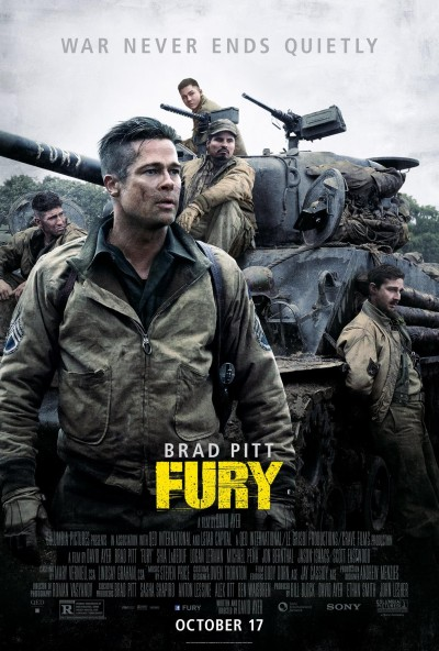 Fury Poster #6