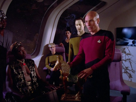 Star Trek TNG Code of Honor Image 4