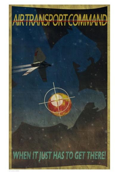 Star Wars Air Transport Command by Peter Ferk
