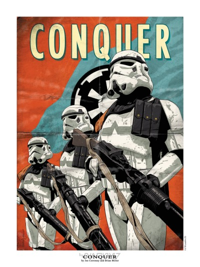 Star Wars Conquer by Joe Corroney & Brian Miller