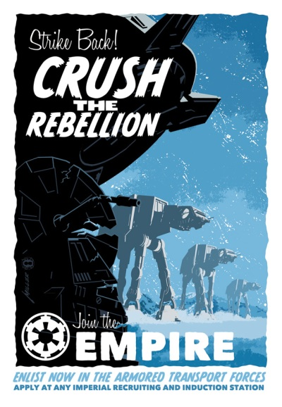 Star Wars Crush the Rebellion by Brian Miller