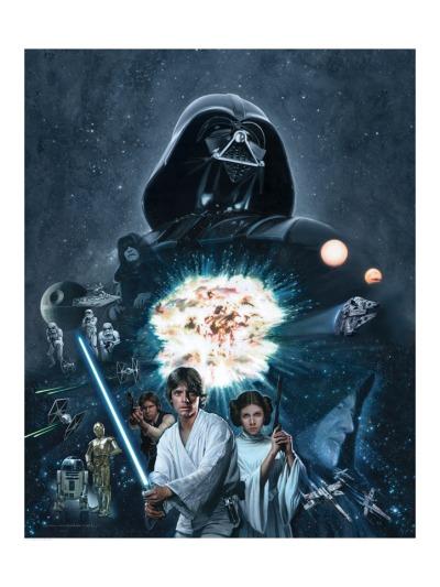 Star Wars Saga by Jerry Vanderstelt