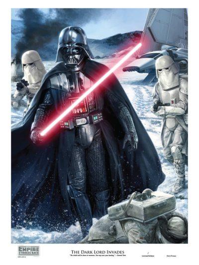 Star Wars The Dark Lord Invades by Chris Trevas