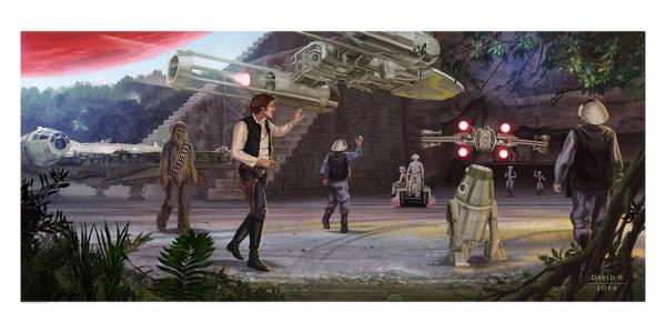 Star Wars Victory by David Rabbitte