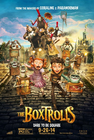 The Boxtrolls Poster #13