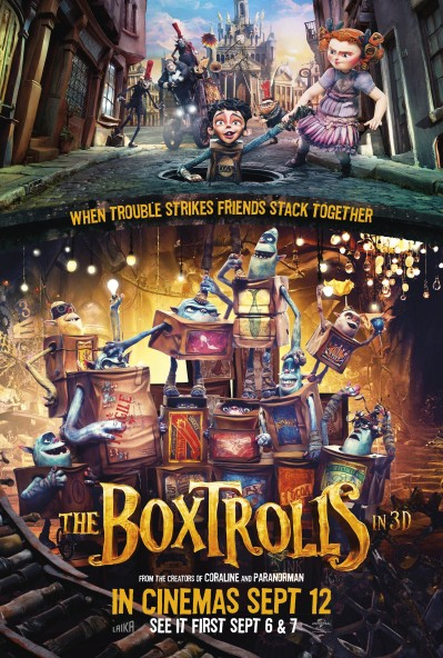 The Boxtrolls Poster #9