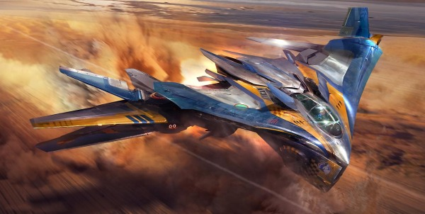 Guardians of the Galaxy Concept Ships Image #1