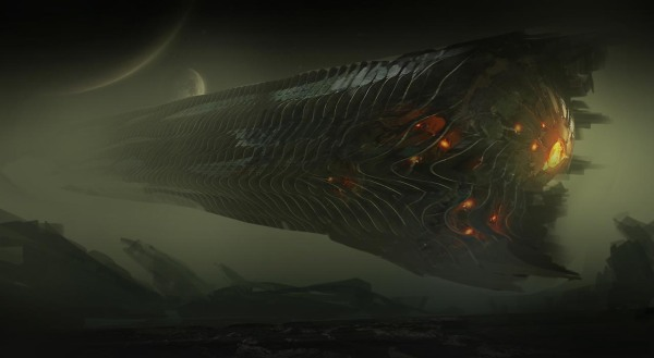 Guardians of the Galaxy Concept Ships Image #11