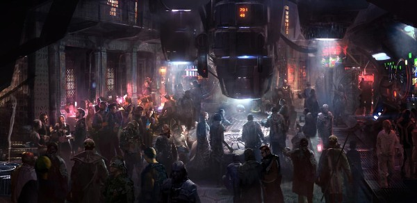 Guardians of the Galaxy Concept Ships Image #13