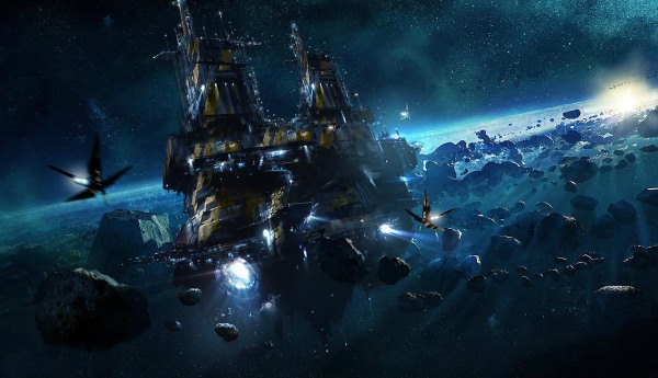 Guardians of the Galaxy Concept Ships Image #14
