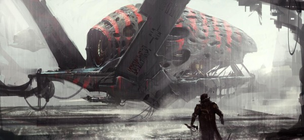 Guardians of the Galaxy Concept Ships Image #16