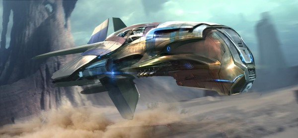 Guardians of the Galaxy Concept Ships Image #2