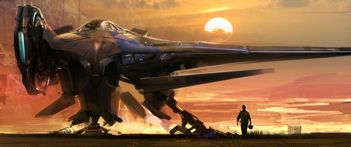 Guardians of the Galaxy Concept Ships Image #3