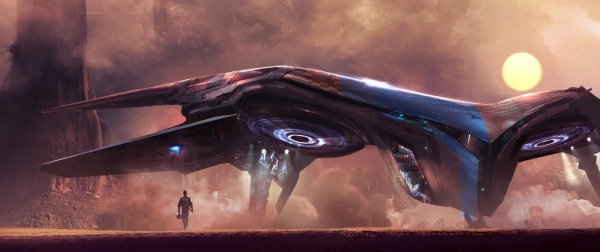Guardians of the Galaxy Concept Ships Image #4