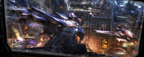 Guardians of the Galaxy Concept Ships Image #7