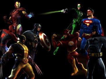 Marvel vs DC Image