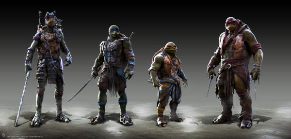 Teenage Mutant Ninja Turtles Concept Art #11