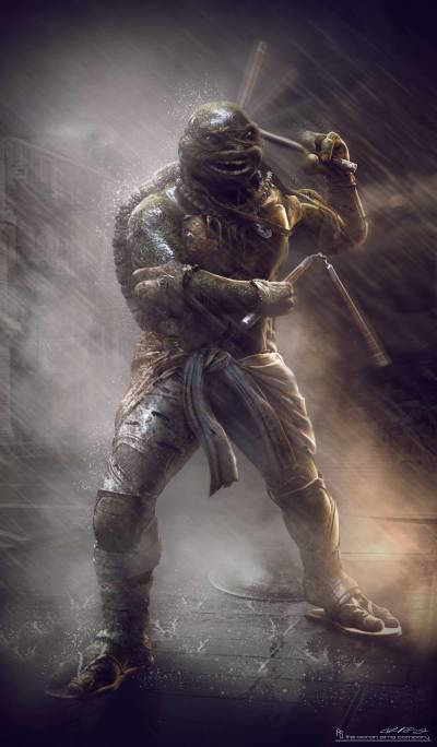 Teenage Mutant Ninja Turtles Concept Art #3