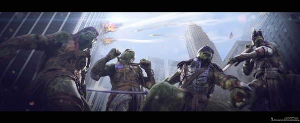 Teenage Mutant Ninja Turtles Concept Art #7