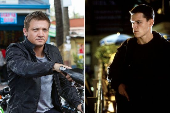 Jeremy Renner and Matt Damon