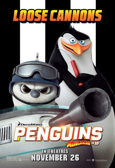 Penguins of Madagascar Poster #4