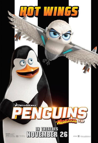 Penguins of Madagascar Poster #5