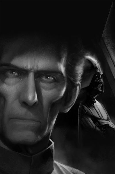 Star Wars Tarkin BW Image