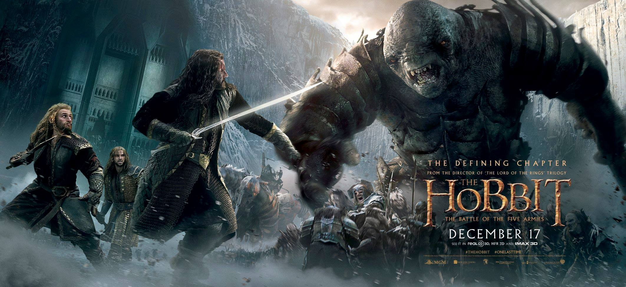 The Hobbit The Battle of the Five Armies Poster #23Reggie ...