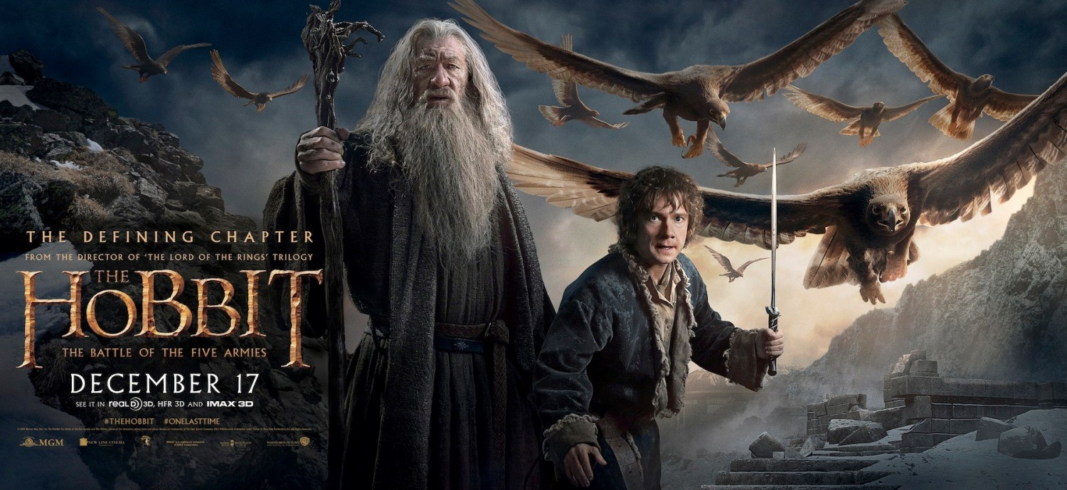 the hobbit the battle of the five armies poster 24reggie