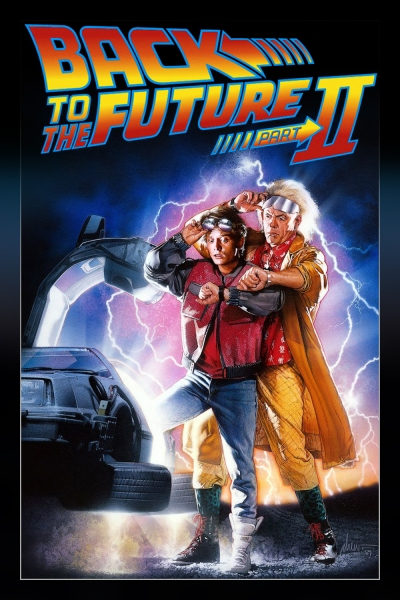 Back to the Future II alt Poster