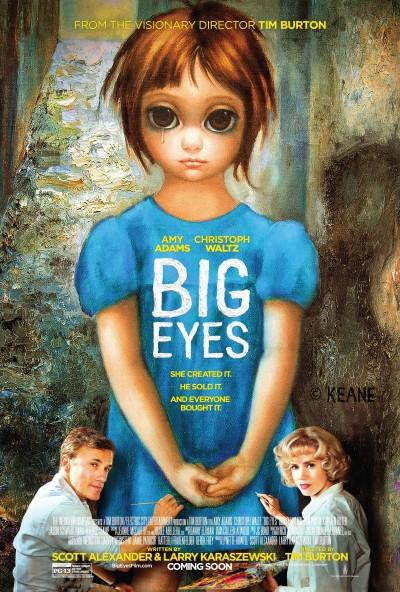 Big Eyes Poster #1