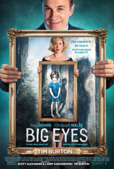 Big Eyes Poster #2