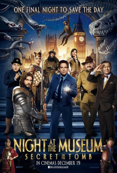 Night at the Museum Secret of the Tomb Poster #13