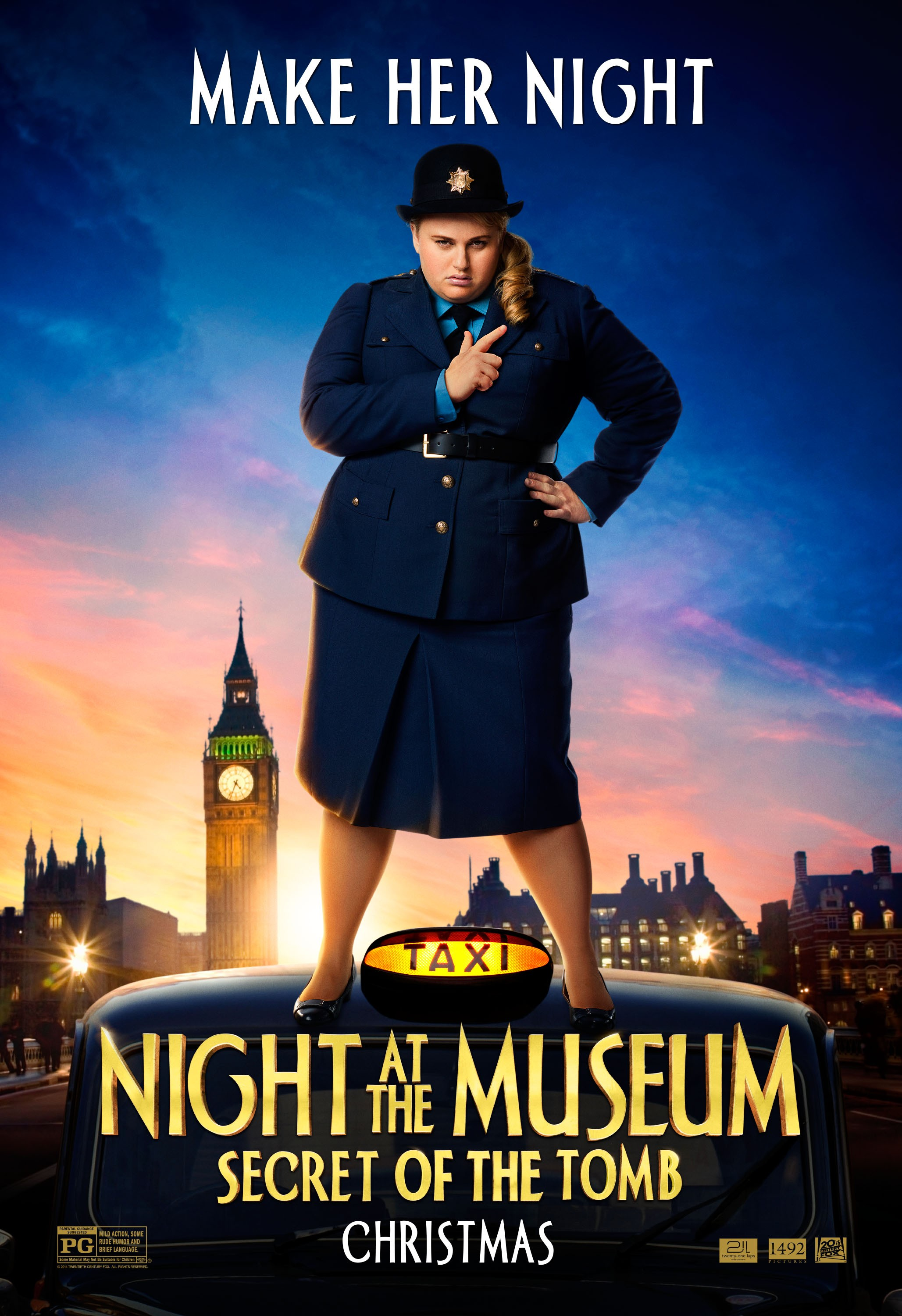 night at the museum secret of the tomb poster #16reggie's take
