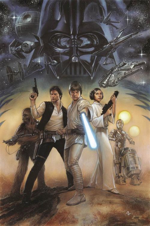 Star Wars Episode IV Original Cover